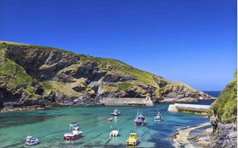 A picture of Port Isaac, Cornwall