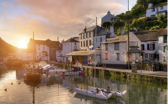 A pretty fishing village situated in Cornwall