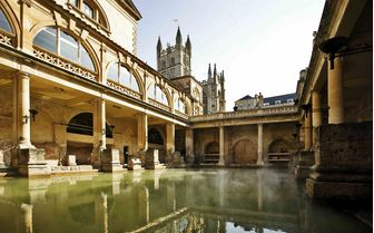 A picture of the Roman Baths