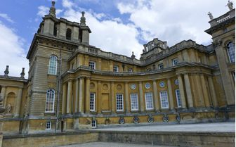 A picture of Blenheim Palace