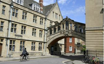 The famous Bridge of Spies, Oxford