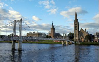 An image of the Scottish town, Inverness
