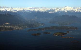 Vancouver Islands aerial