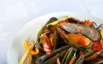 Mussels in New Zealand