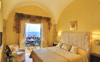 The luxury suite at Santa Caterina