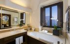 The luxury bathroom at Monastero Santa Rosa