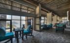 The restaurant at Six Senses Zighy Bay, luxury hotel in Oman