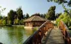 Bridge over the Lagoon to EQ Restaurant