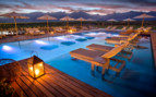 Poolside by Night