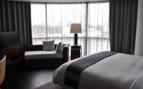Bedroom at Las Alcobas, luxury hotel in Mexico City