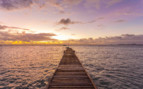 Sunset Jetty, Mustique