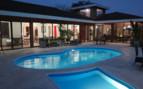 Rancho Humo pool and accommodation