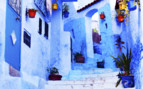 Blue houses in Chefchaouen