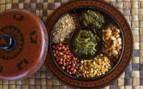 Burmese food close up