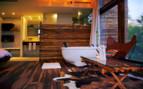 Luxury suite interior at the hotel