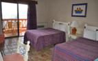 Bedroom at Hotel Mirador, luxury hotel in Mexico