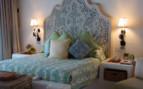 Bed at the junior suite at las Ventanas al Paraiso