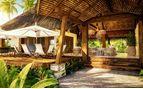 Sitting area at Six Senses Fiji