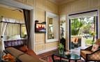 Cabana suite interior at  the hotel