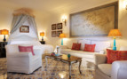 The deluxe suite at Le Sirenuse Hotel, luxury Hotel in Italy