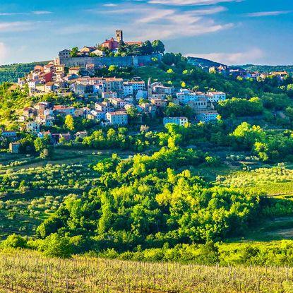 Motovun town, Istria