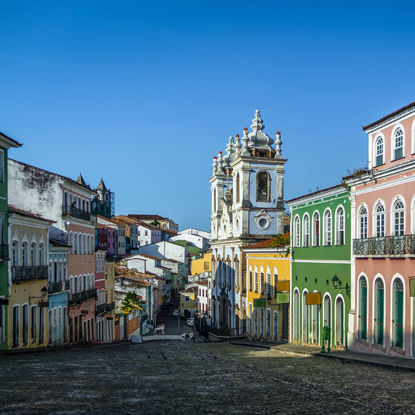 Colourful Houses in Pelourinho