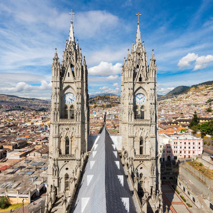 Cathedral in Quito