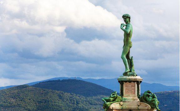 piazzale michelangelo statue