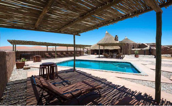 kulala desert pool
