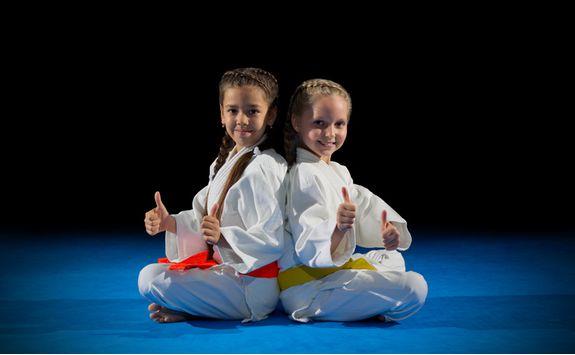 Karate kids in Tokyo