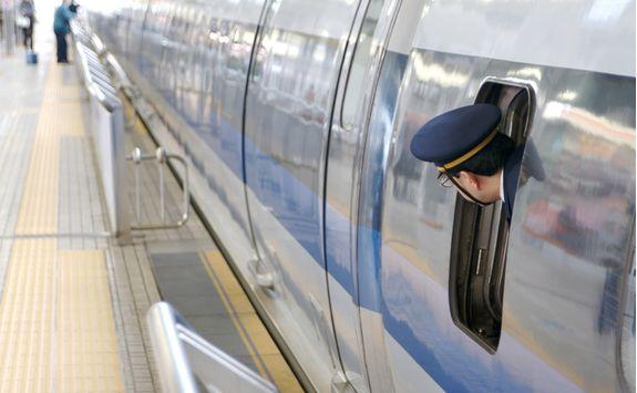Bullet train to Kanazawa