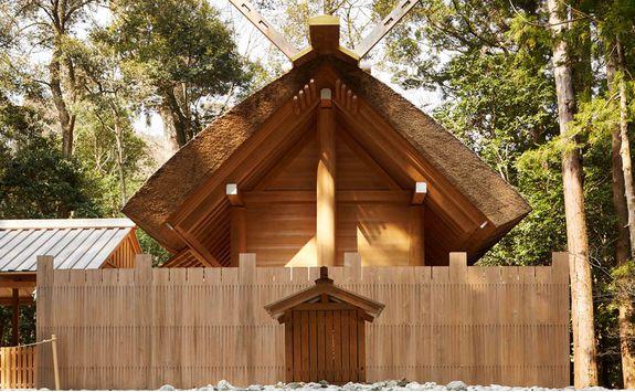 Ise Shrine building
