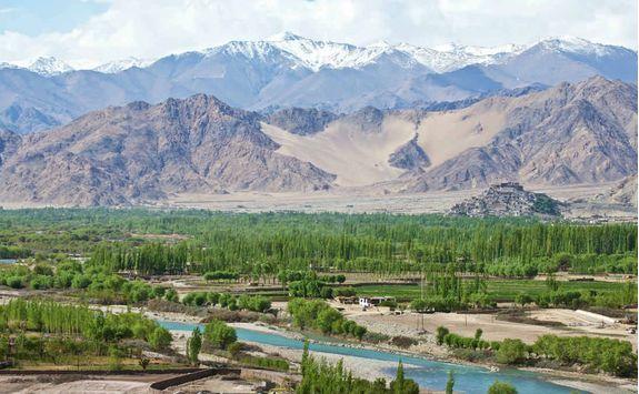 Landakh landscape