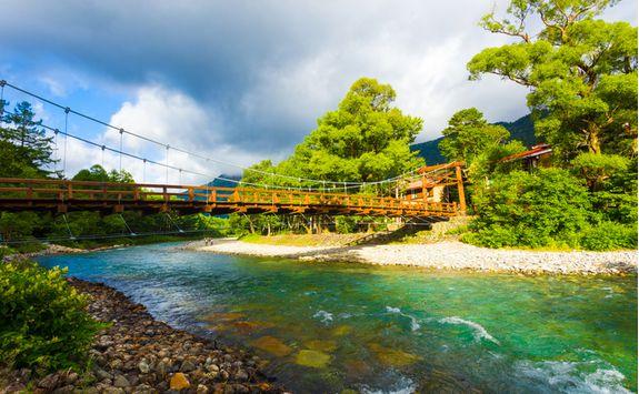 kamikochi azusa bridge