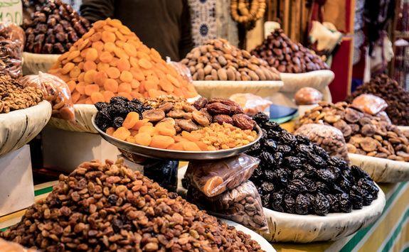 Fruit at Marrakech market