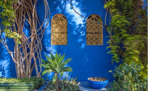 Wall in Garden in Marrakech