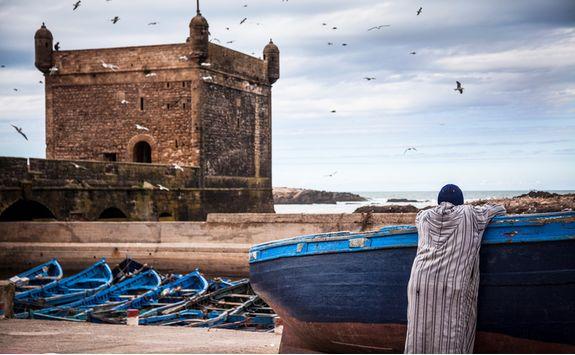 Boat in Essaouira