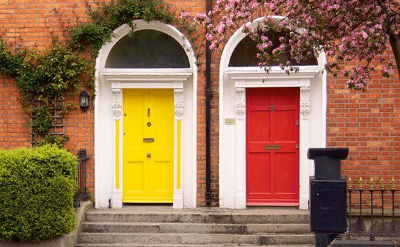 Doors in spring