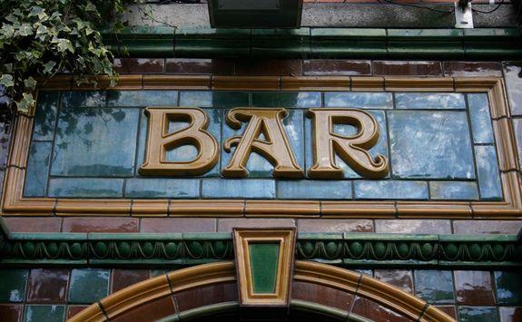 Dublin bar sign