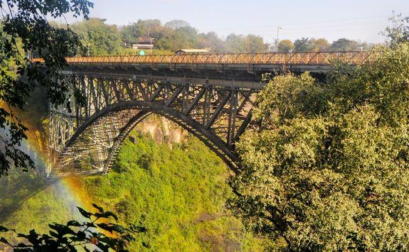 Bridge over Vic Falls