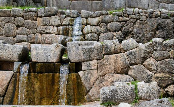 Machu Picchu water temple
