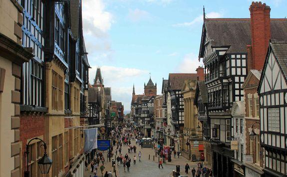 Chester City centre