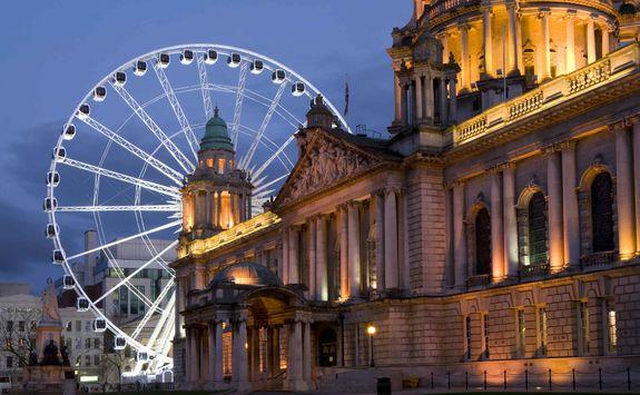 Belfast city wheel
