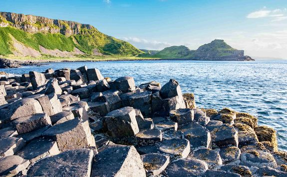 View from the Giant's Causeway