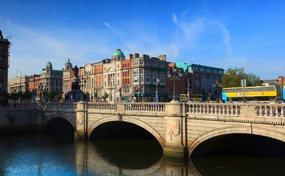 OConnell Bridge Dublin