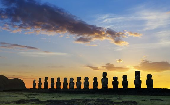 Sunrise at Tongariki