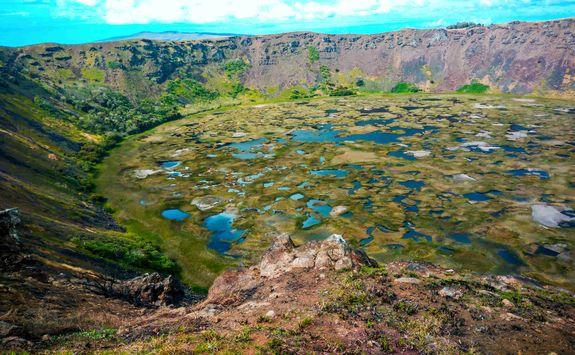 Rano Kau Crater
