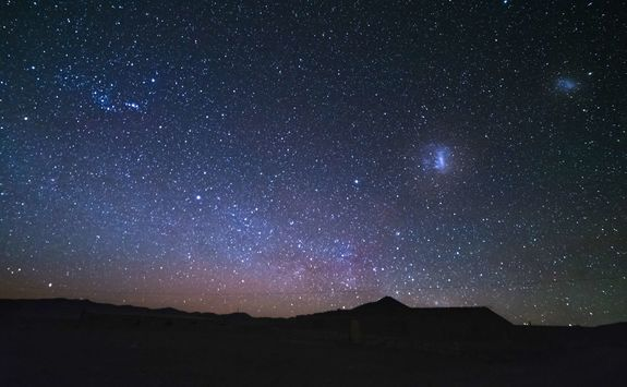 Star gazing in the Atacama Desert