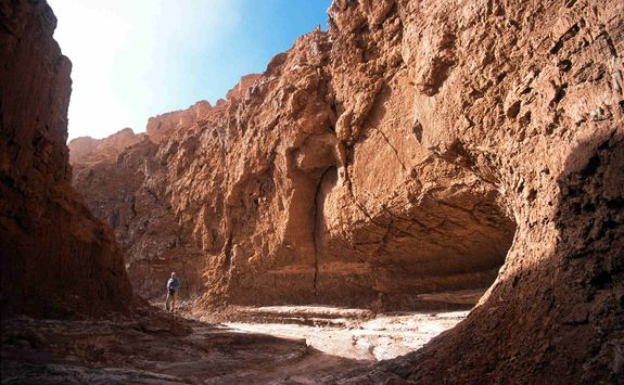 Walking in the Moon Valley