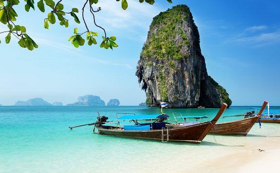 Railay beach in Krabi